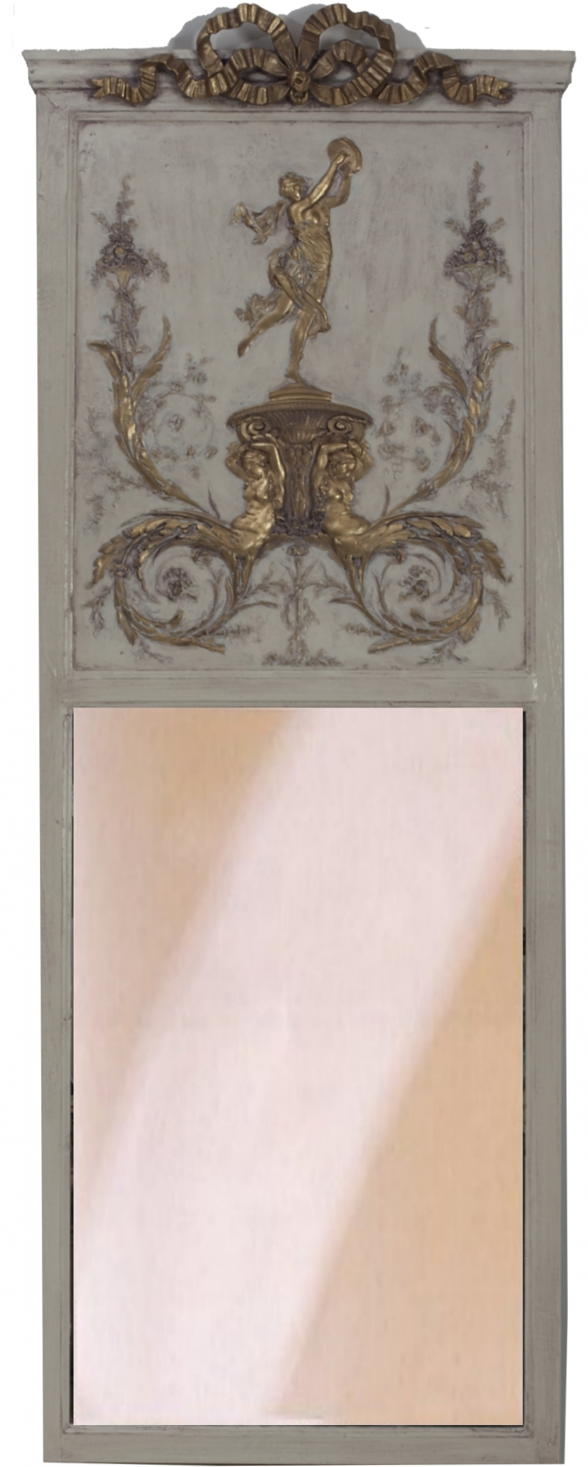 Interior: Vintage Trumeau Mirror For Home Interiors — Nadabike For Tall Venetian Mirror (Image 10 of 20)