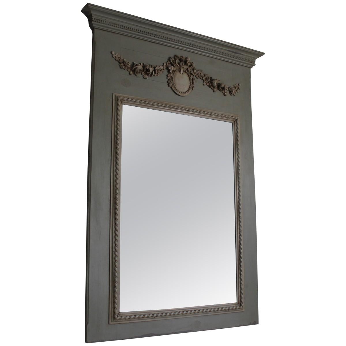 Interior: Vintage Trumeau Mirror For Home Interiors — Nadabike For Venetian Style Wall Mirror (Image 6 of 20)