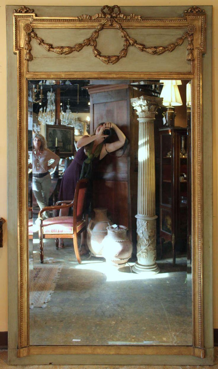Interior: Vintage Trumeau Mirror For Home Interiors — Nadabike Pertaining To Extra Large Venetian Mirror (Image 13 of 20)