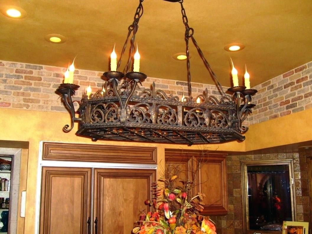 Iron Chandeliers Rustic Engageri Within Multi Colored Gypsy Chandeliers (Image 21 of 25)