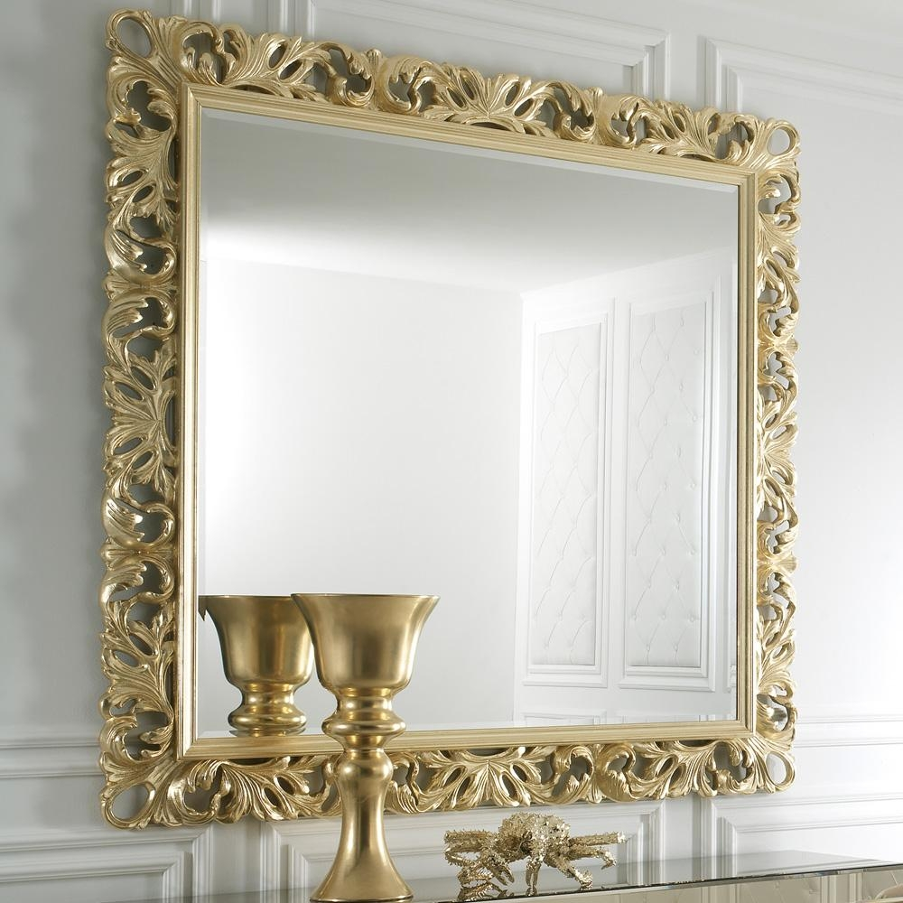 Italian Gold Rococo Mirror | Juliettes Interiors – Chelsea, London Intended For Rococo Mirror Gold (Image 15 of 20)