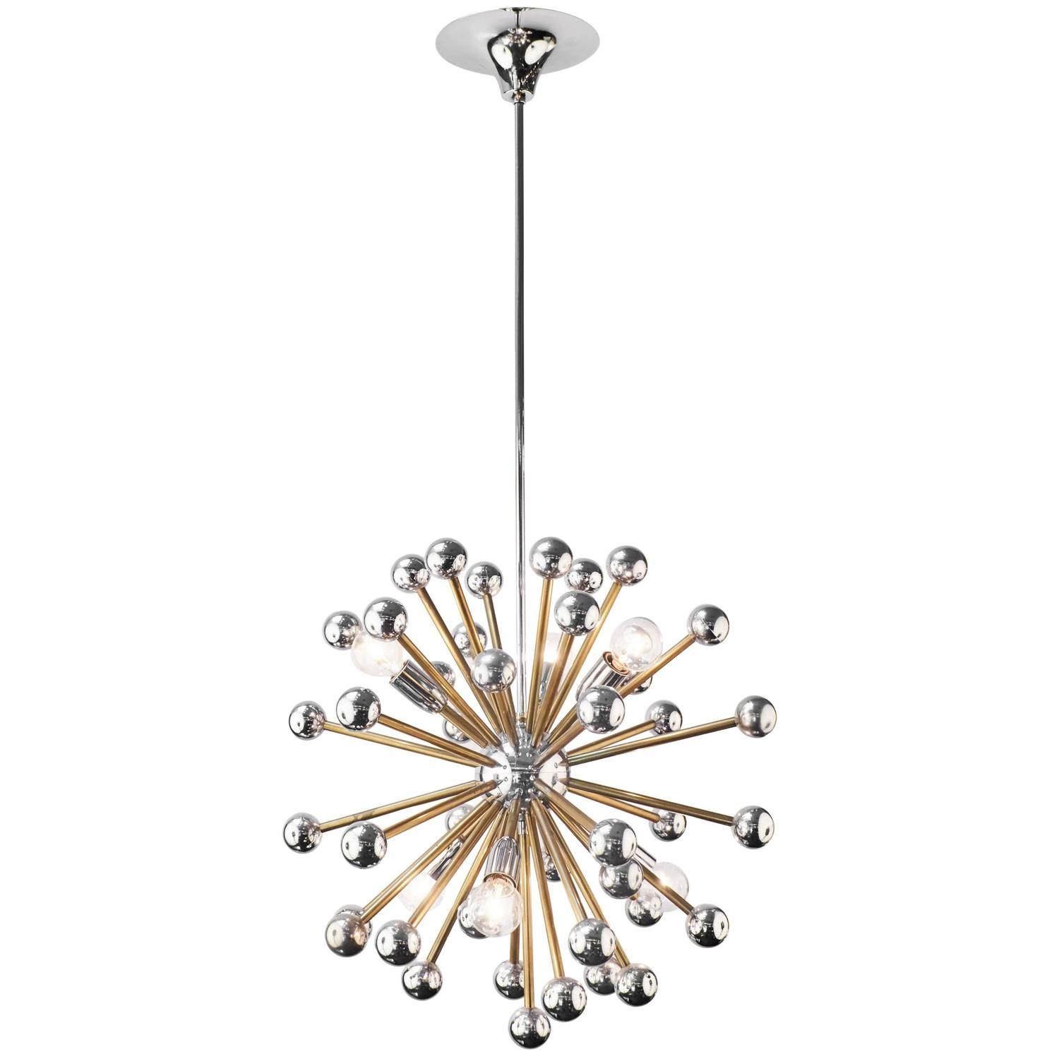 Featured Image of Chrome Sputnik Chandeliers