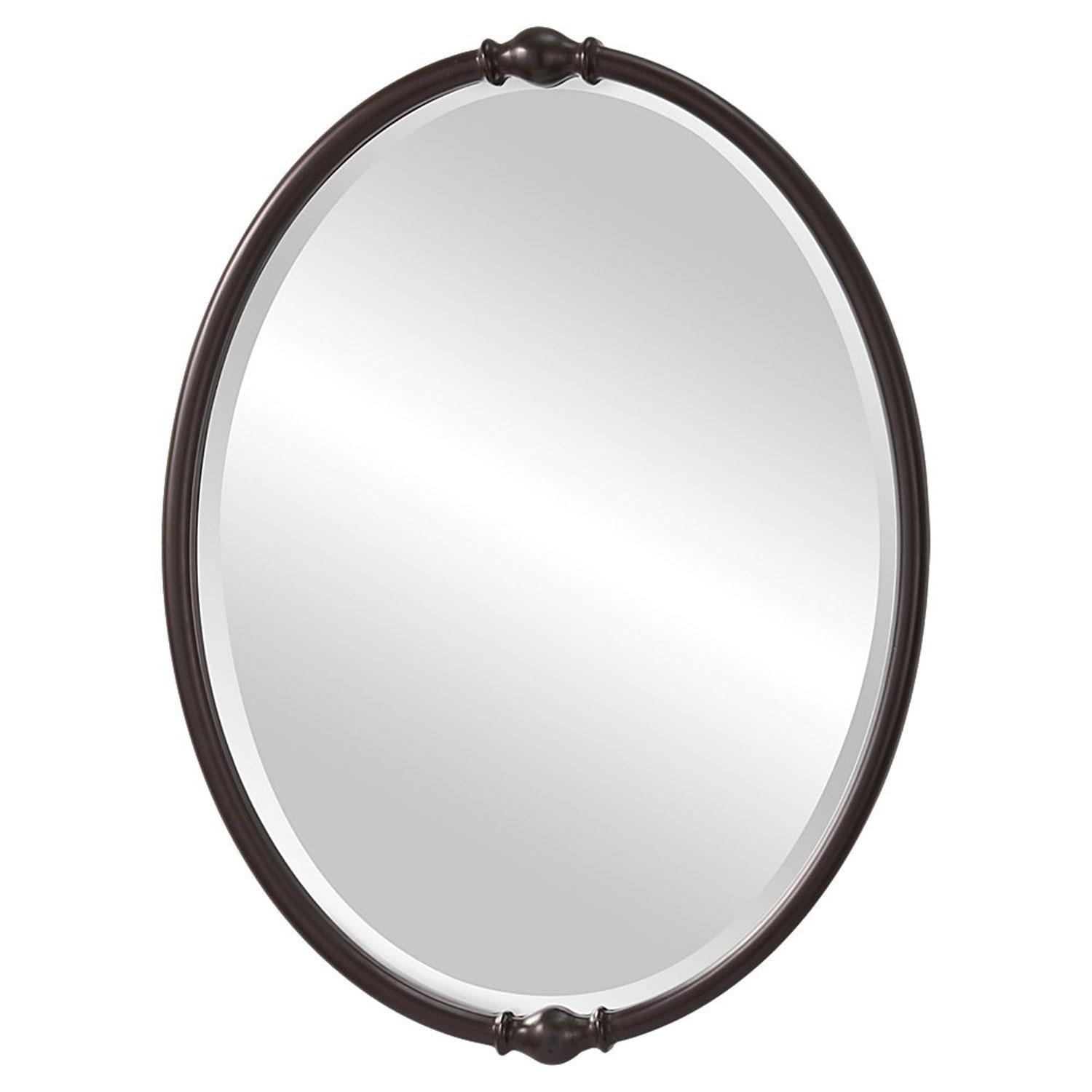 Jackie Oil Rubbed Bronze Mirror Feiss Wall Mirror Mirrors Home Decor Inside Bronze Wall Mirror (Image 7 of 20)