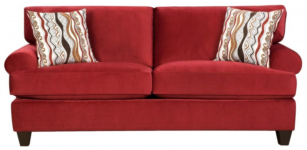 Jackpot Red Sofa | 47B3 | Sofas | Furniture World Superstore With Regard To Corinthian Sofas (View 18 of 20)