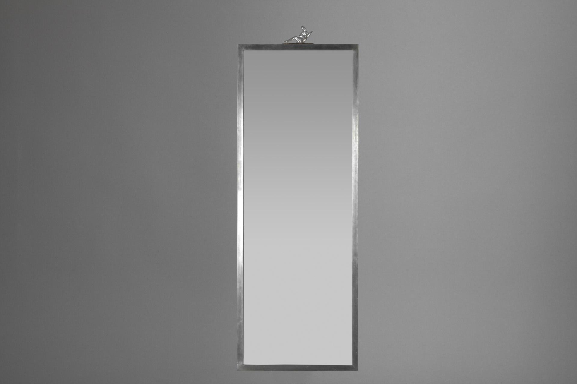 Jacksons – Large Pewter Mirror – Throughout Large Pewter Mirror (Image 11 of 20)