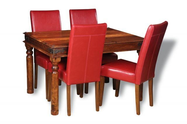 Jali 120Cm Dining Table & 4 Barcelona Dining Chairs | Trade Pertaining To Barcelona Dining Tables (Image 13 of 20)