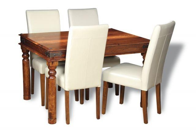 Jali 120Cm Dining Table & 4 Barcelona Dining Chairs | Trade With Barcelona Dining Tables (Image 14 of 20)