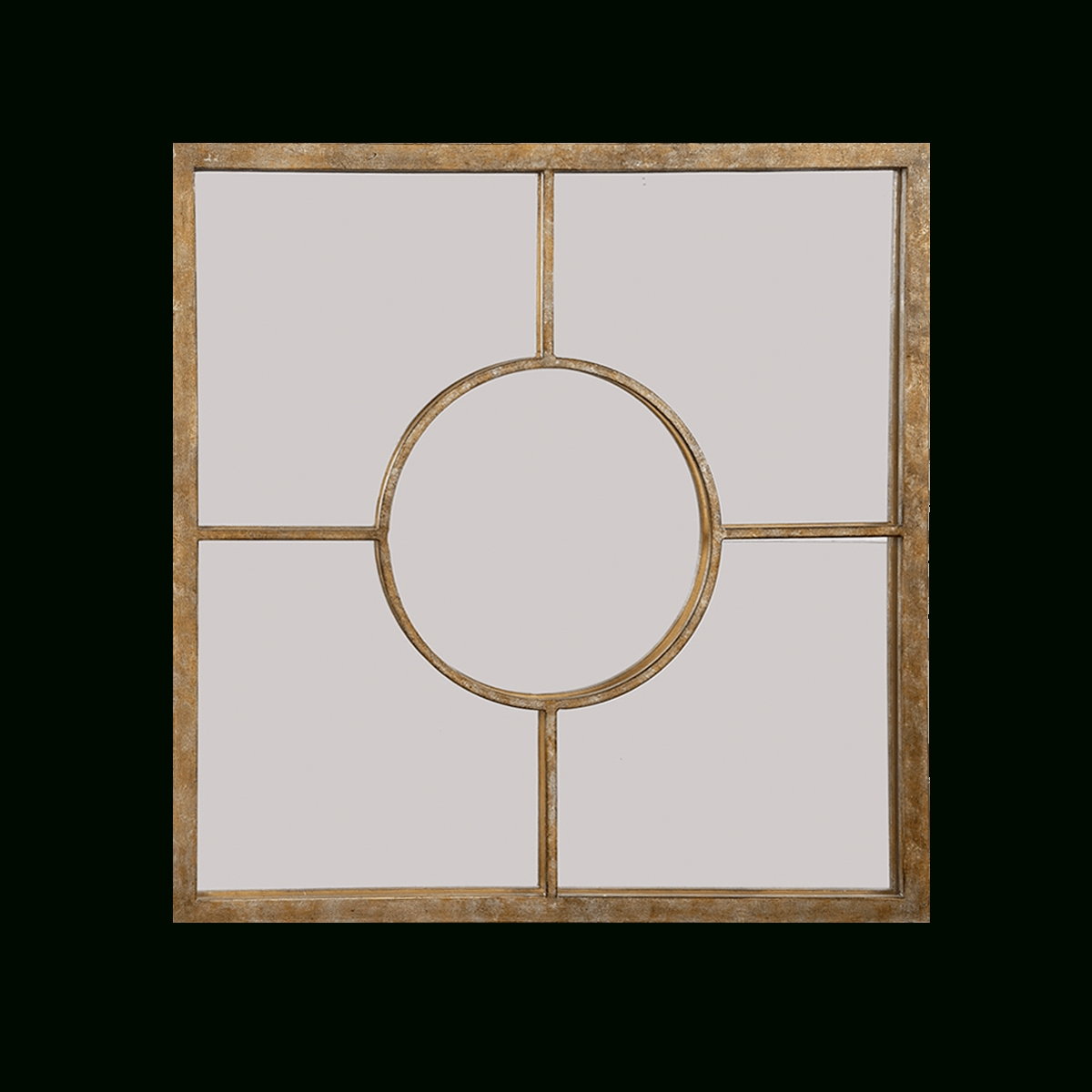 James Mottled Gold Square Decorative Wall Mirrorold World Design Pertaining To Square Gold Mirror (Photo 15 of 20)