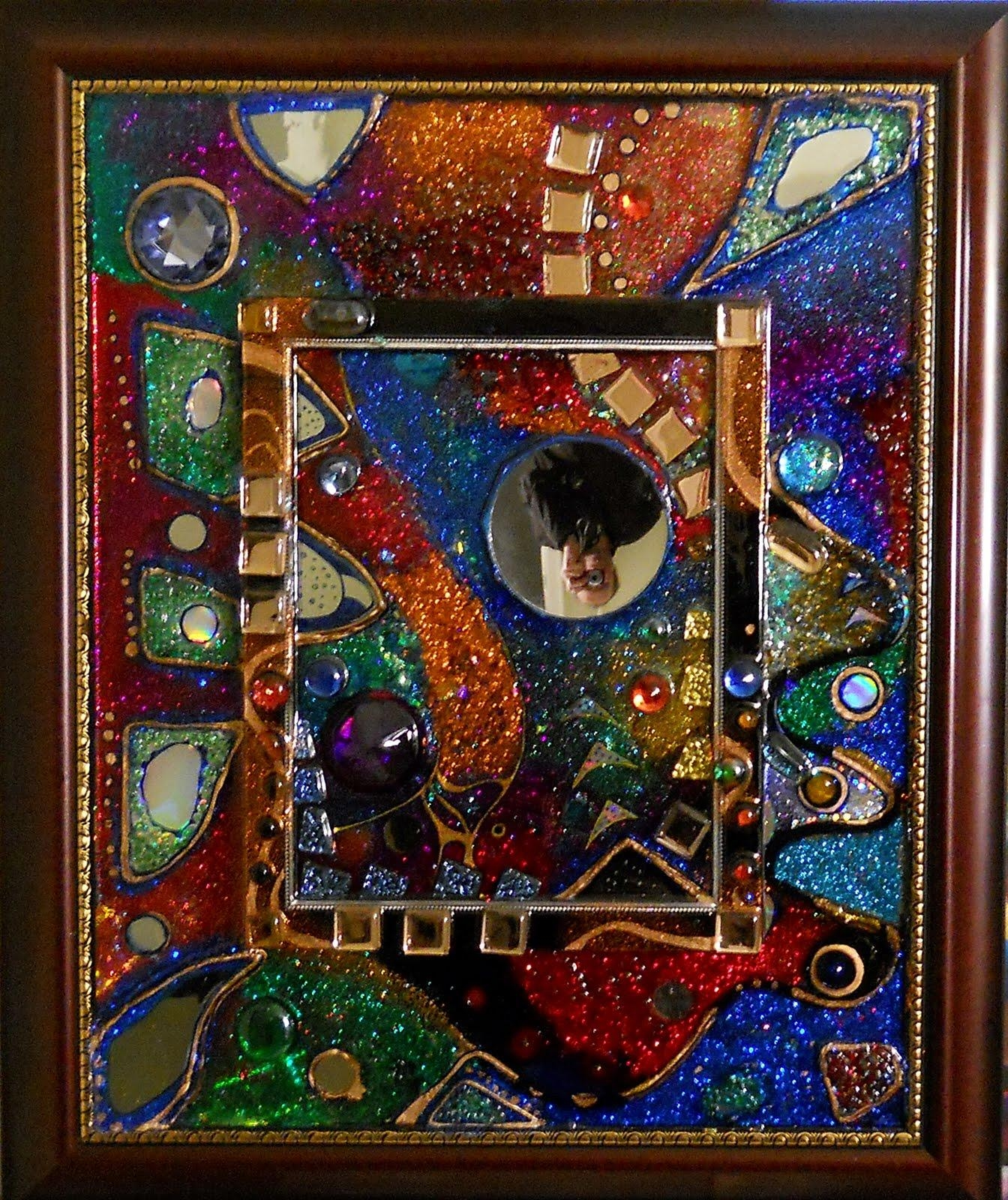 Jewelry Boxes, Functional Pieces, Glitter Paintings: Magic Mirrors With Regard To Liquid Glass Mirrors (Image 12 of 20)