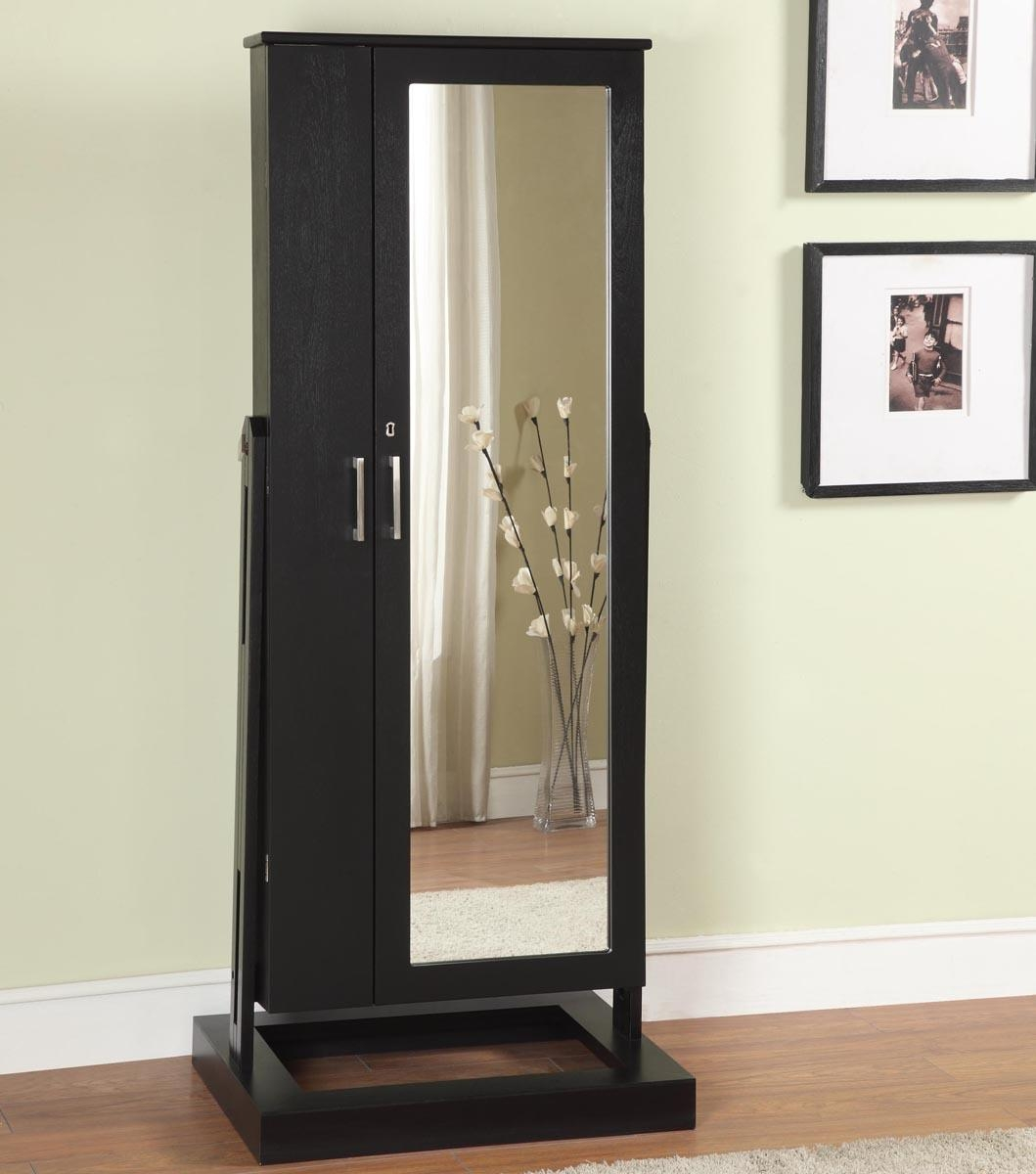 Jewelry Cabinet Mirror Free Standing 2 Breathtaking Decor Plus For Cream Free Standing Mirror (Image 16 of 20)