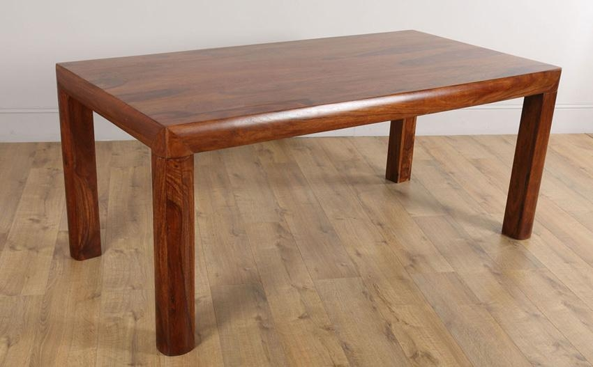 Kerala Sheesham Dining Room Table 180X90 Only £ (Image 11 of 20)