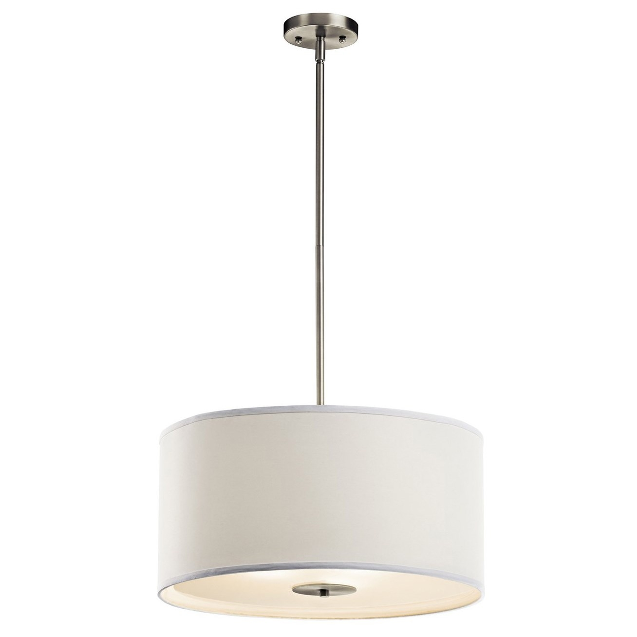 Kichler 42121ni 100 Watt Crystal Persuasion Inverted Pendant Light With Regard To Inverted Pendant Chandeliers (Image 13 of 25)