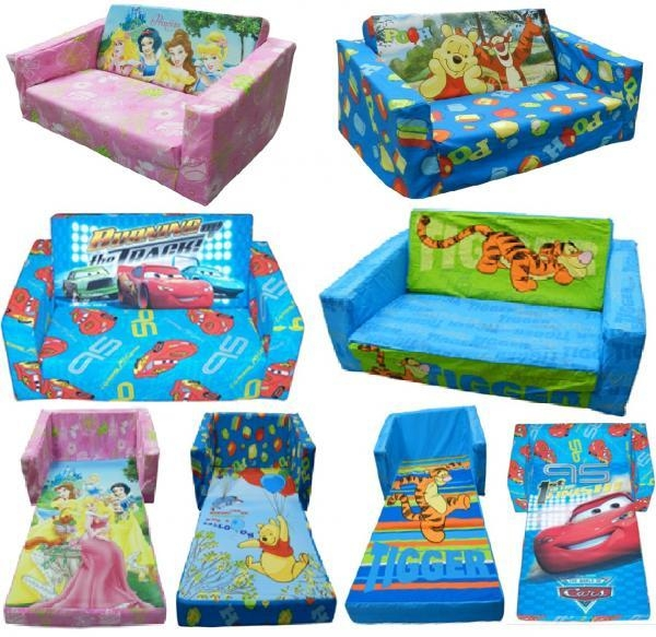 Kids Flip Out Sofa Throughout Kid Flip Open Sofa Beds (Image 15 of 20)