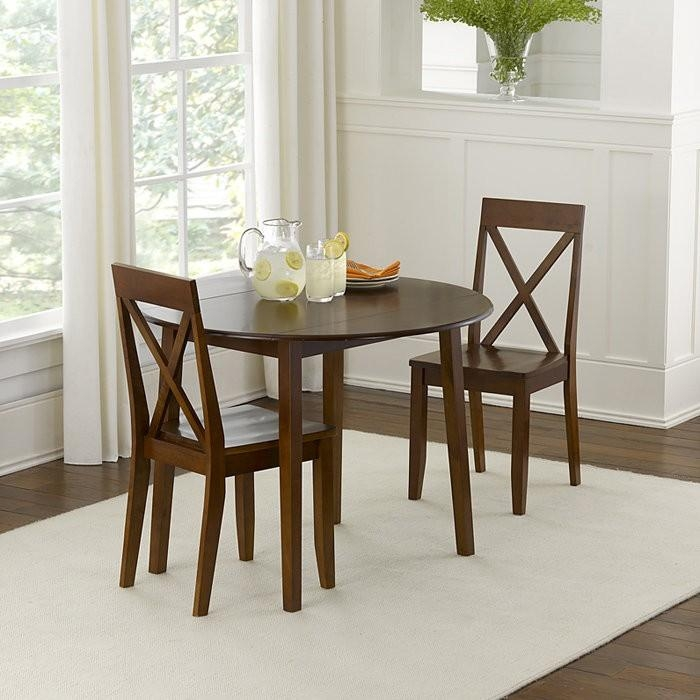 Kitchen: Best Small Kitchen Table And Chairs Design 2 Chairs With Pertaining To Dining Tables For Two (View 11 of 20)