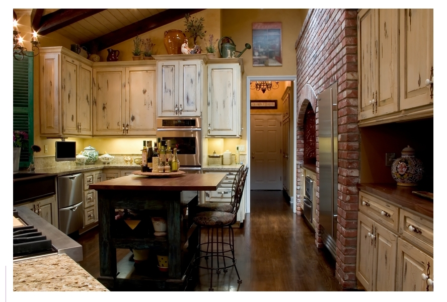 Kitchen Design Rustic Kitchen Decoration Sets With Woden Kitchen Regarding Small Rustic Kitchen Chandeliers (Image 18 of 25)