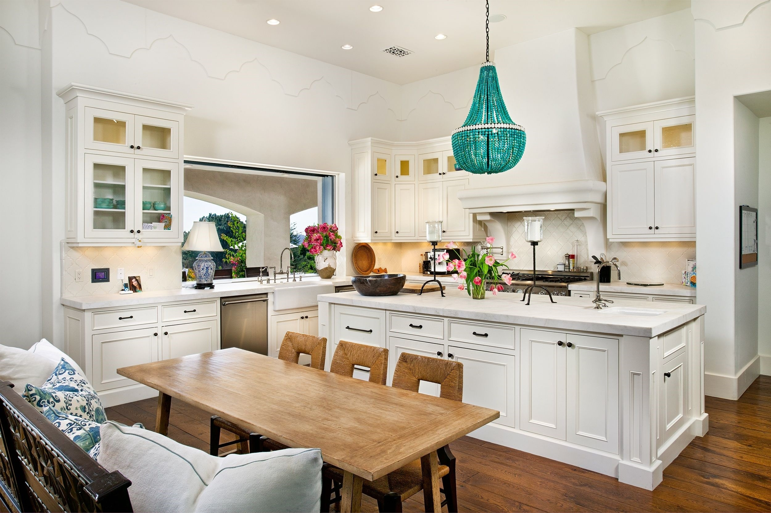 Kitchen Elegant Of Kitchen Chandelier Ideas Kitchen Light Regarding Turquoise Chandelier Lights (View 24 of 25)