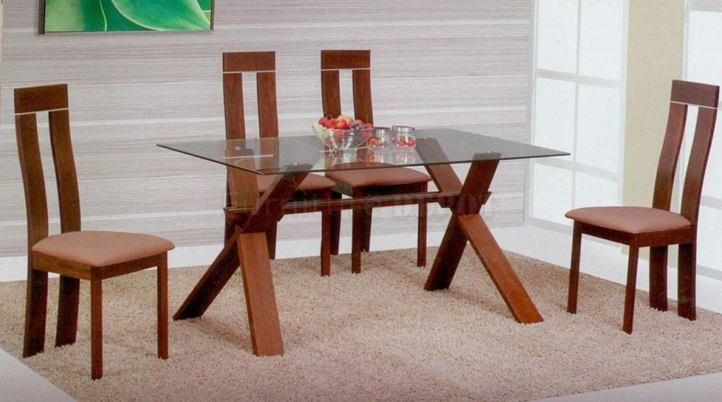 Kitchen Glass Dining Table Sets Glass Dining Room Table (Image 17 of 20)
