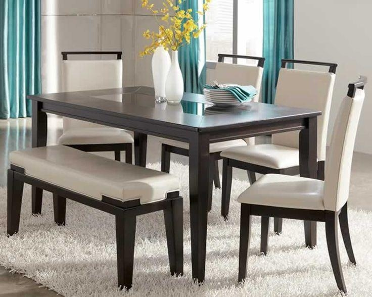 Kitchen Outstanding Best 10 Dining Set With Bench Ideas On Intended For Small Dining Tables And Bench Sets (Image 16 of 20)