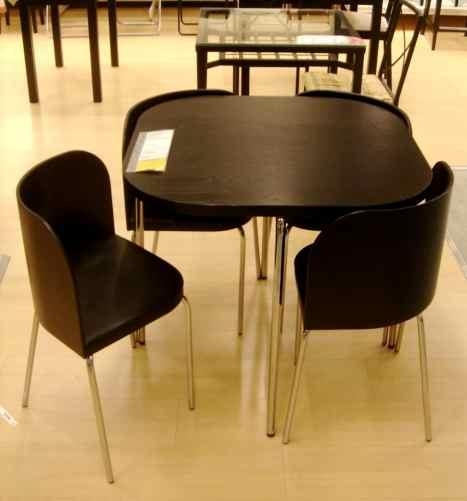 Kitchen Outstanding Fetching Compact Round Dining Room Table For Ikea Round Dining Tables Set (Image 13 of 20)