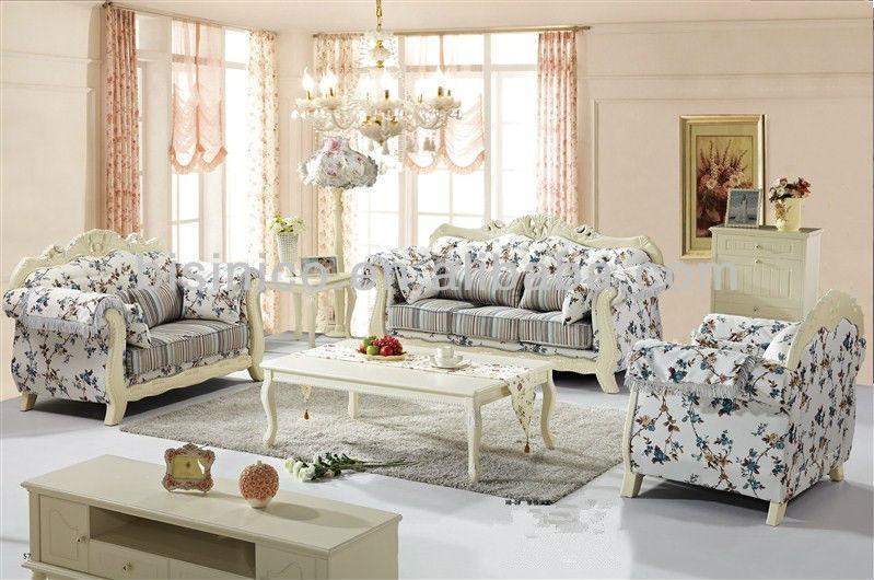 Korea Style Living Room Fabric Sofa Furniture,gardening Style With Asian Style Sofas (Image 15 of 20)