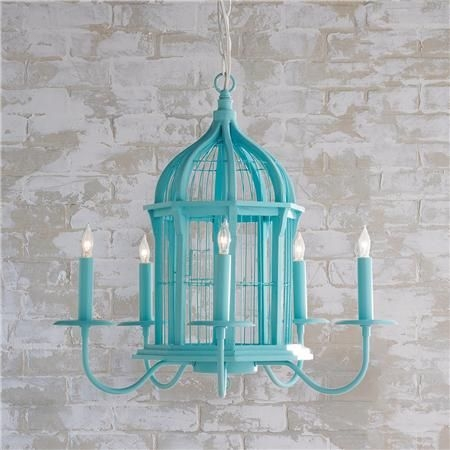 Ku Kafesi Avize Hakknda Pinterestteki En Iyi 20 Fikir Ku With Regard To Turquoise Birdcage Chandeliers (View 22 of 25)