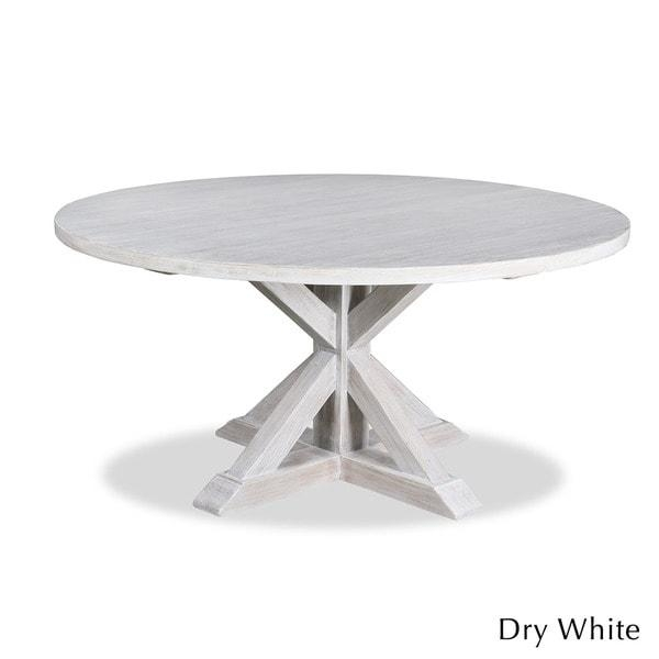La Phillippe Reclaimed Wood Round Dining Table – Free Shipping With Regard To Oval Reclaimed Wood Dining Tables (View 6 of 20)