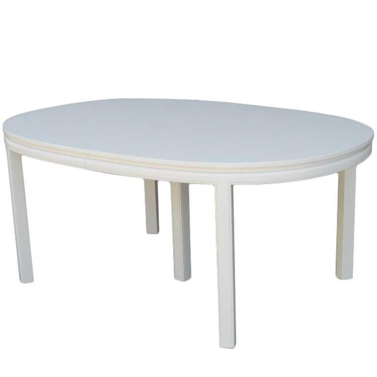 Lacquer Dining Table | Dining Tables Throughout Cream Lacquer Dining Tables (Image 7 of 20)