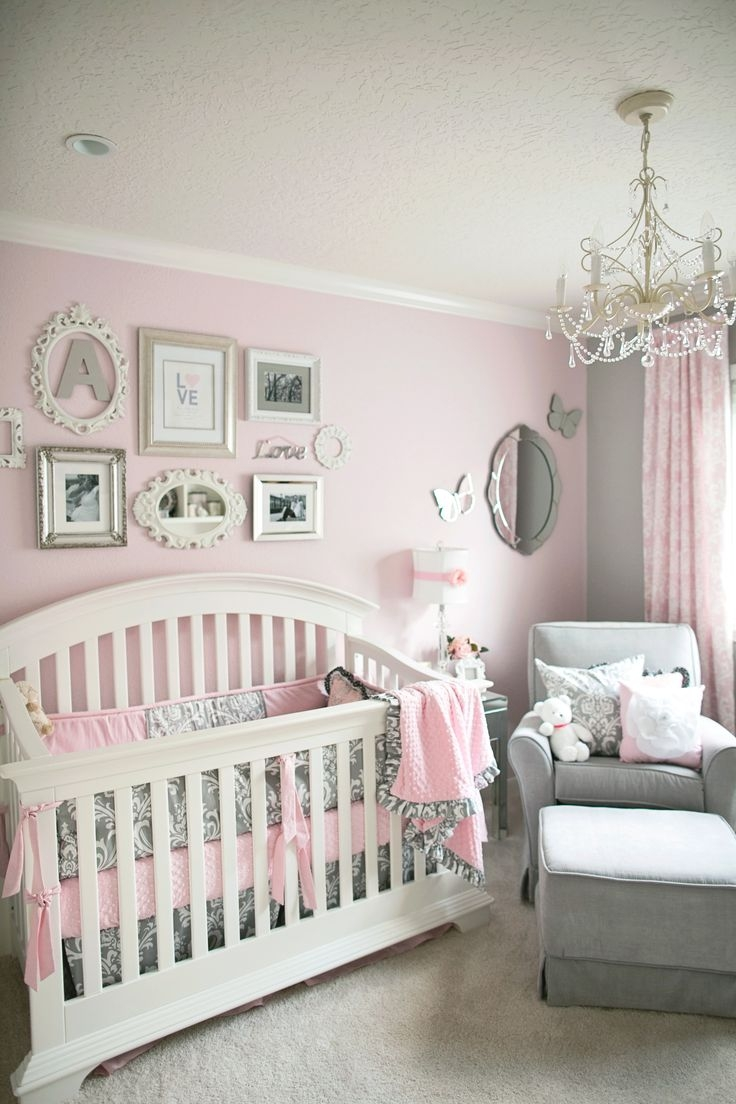 Lamp Create An Adorable Room For Your Little Girl With Chandelier For Mini Chandeliers For Nursery (Image 15 of 25)