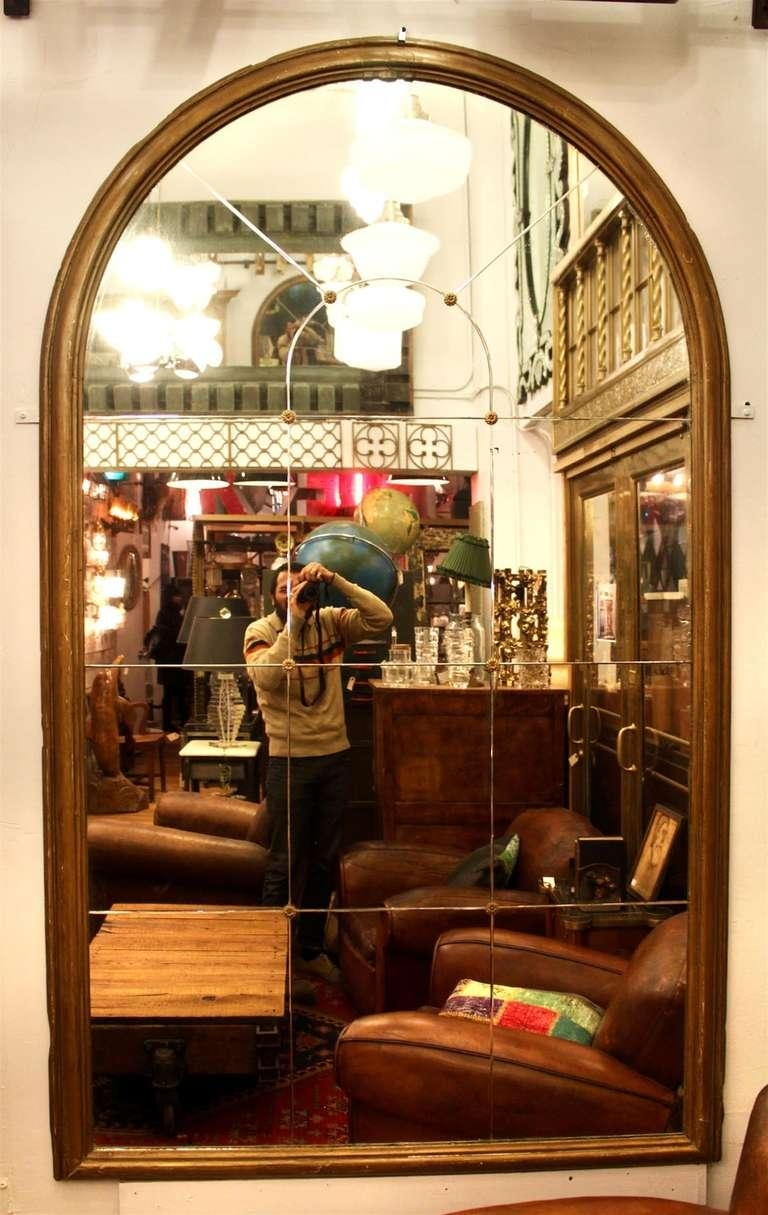 Large Antique Arched Mirror From A New York City Residence For With Regard To Antique Arched Mirror (Image 17 of 20)