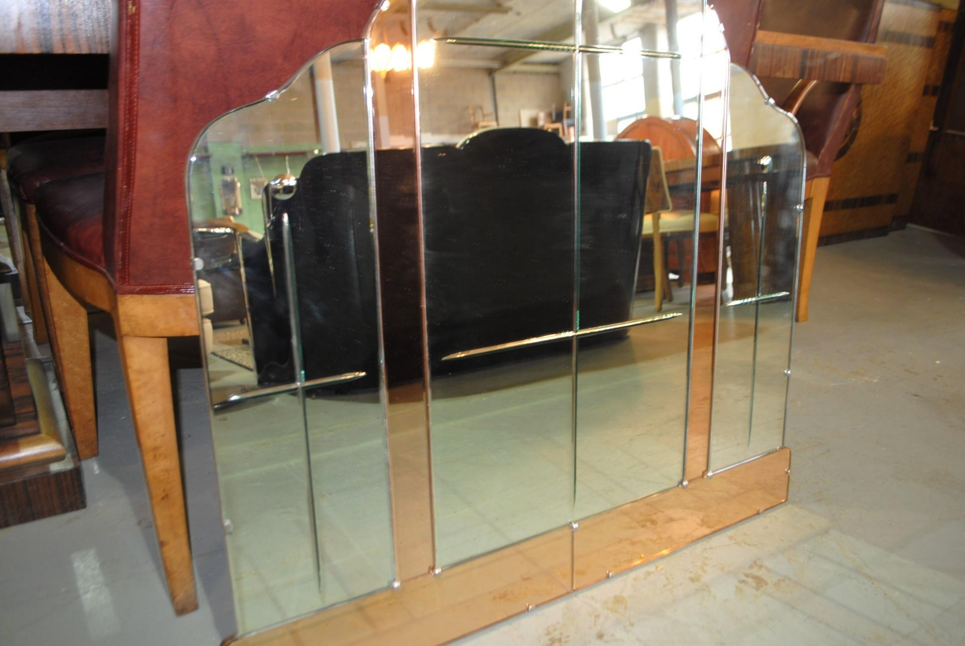 Large Art Deco Mirror || Cloud 9, Art Deco Furniture Sales Throughout Large Art Deco Mirror (View 16 of 20)