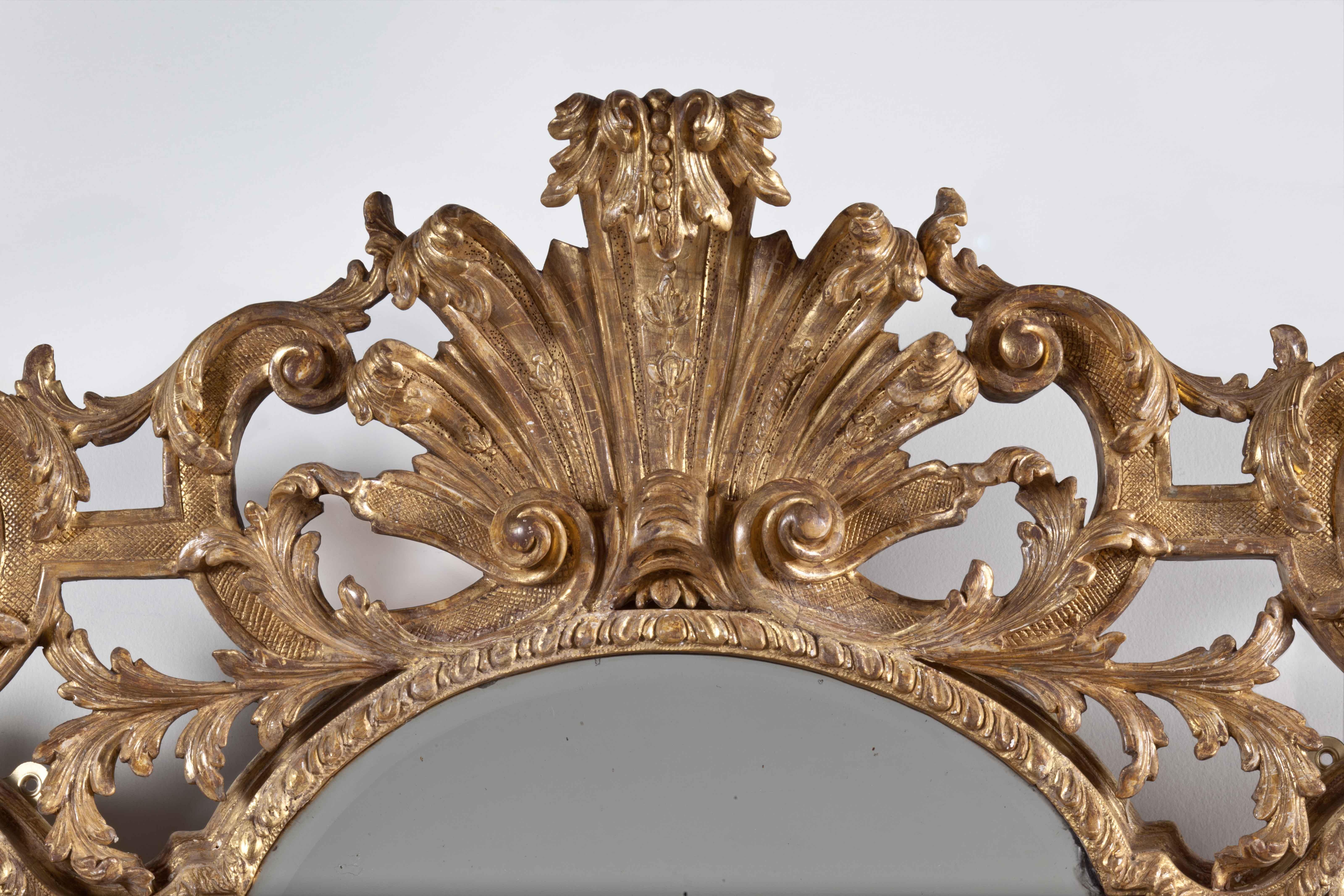 Large Baroque Mirror | Clinton Howell Throughout Large Baroque Mirror (Image 13 of 20)