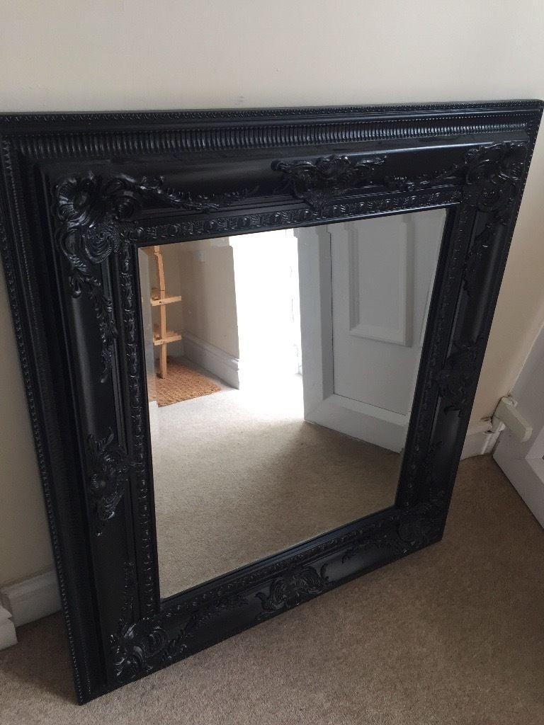 Large Black Mirror | In Rhymney, Blaenau Gwent | Gumtree With Large Black Mirror (Image 13 of 20)