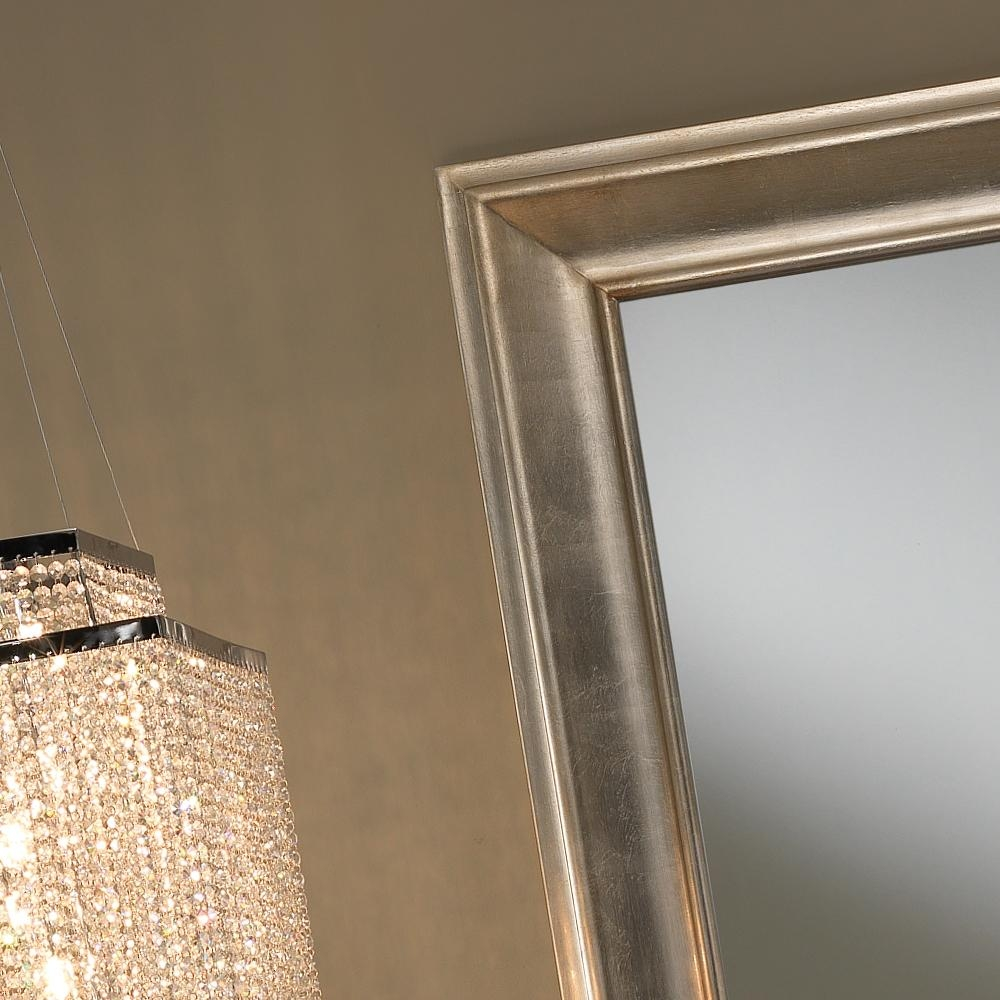 Large Champagne Leaf Wall Mirror | Juliettes Interiors – Chelsea Inside Champagne Mirror (Image 10 of 20)