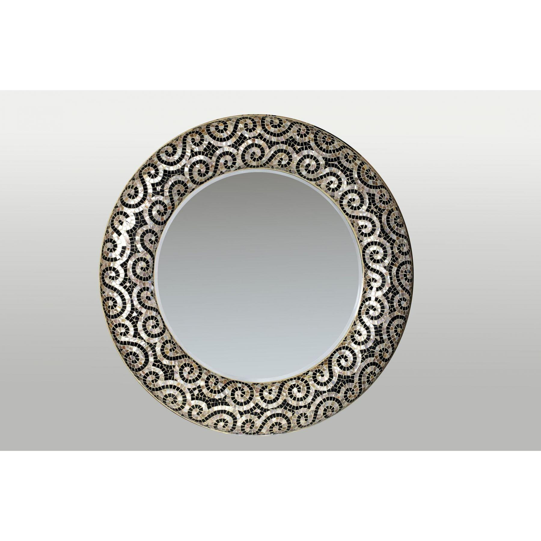 Large Decorative Mirrors With Specific Design To Beautify | The Pertaining To Decorative Round Mirrors (Image 8 of 20)