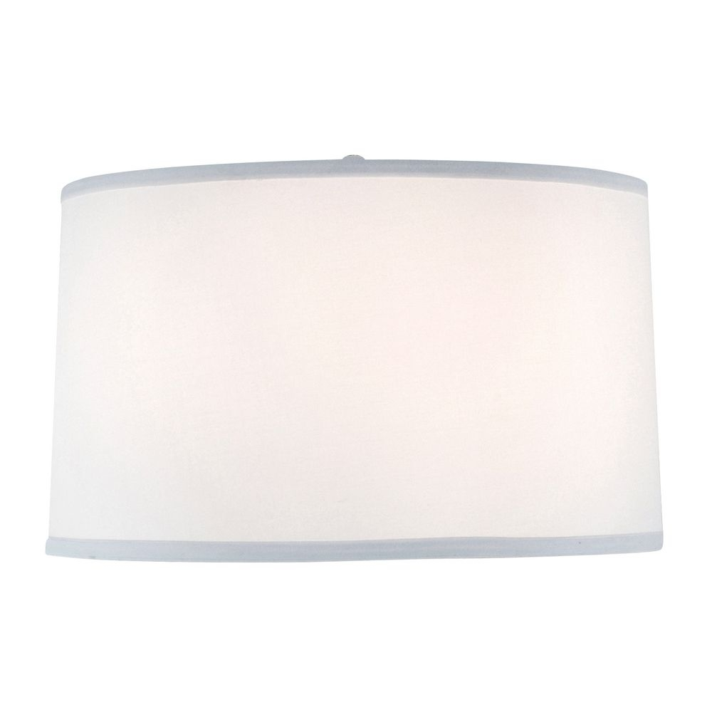 Large Drum Lamp Shade Dcl Sh7212 Pcw Destination Lighting Throughout Drum Lamp Shades For Chandeliers (View 17 of 25)