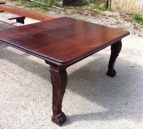 Large Early 19Th Century Regency Mahogany Extending Dining Table For Mahogany Extending Dining Tables (Image 11 of 20)
