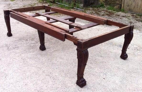 Large Early 19Th Century Regency Mahogany Extending Dining Table Regarding Mahogany Extending Dining Tables (Image 12 of 20)