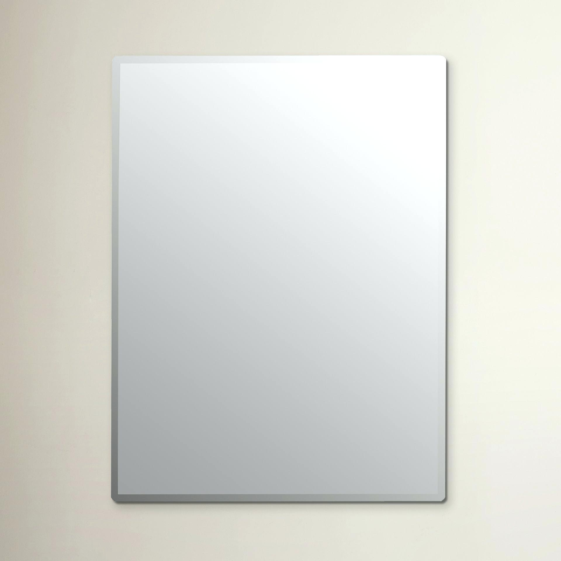 Large Frameless Beveled Wall Mirror Full Length Singapore – Shopwiz Throughout Wall Mirror Full Length Frameless (Image 11 of 20)