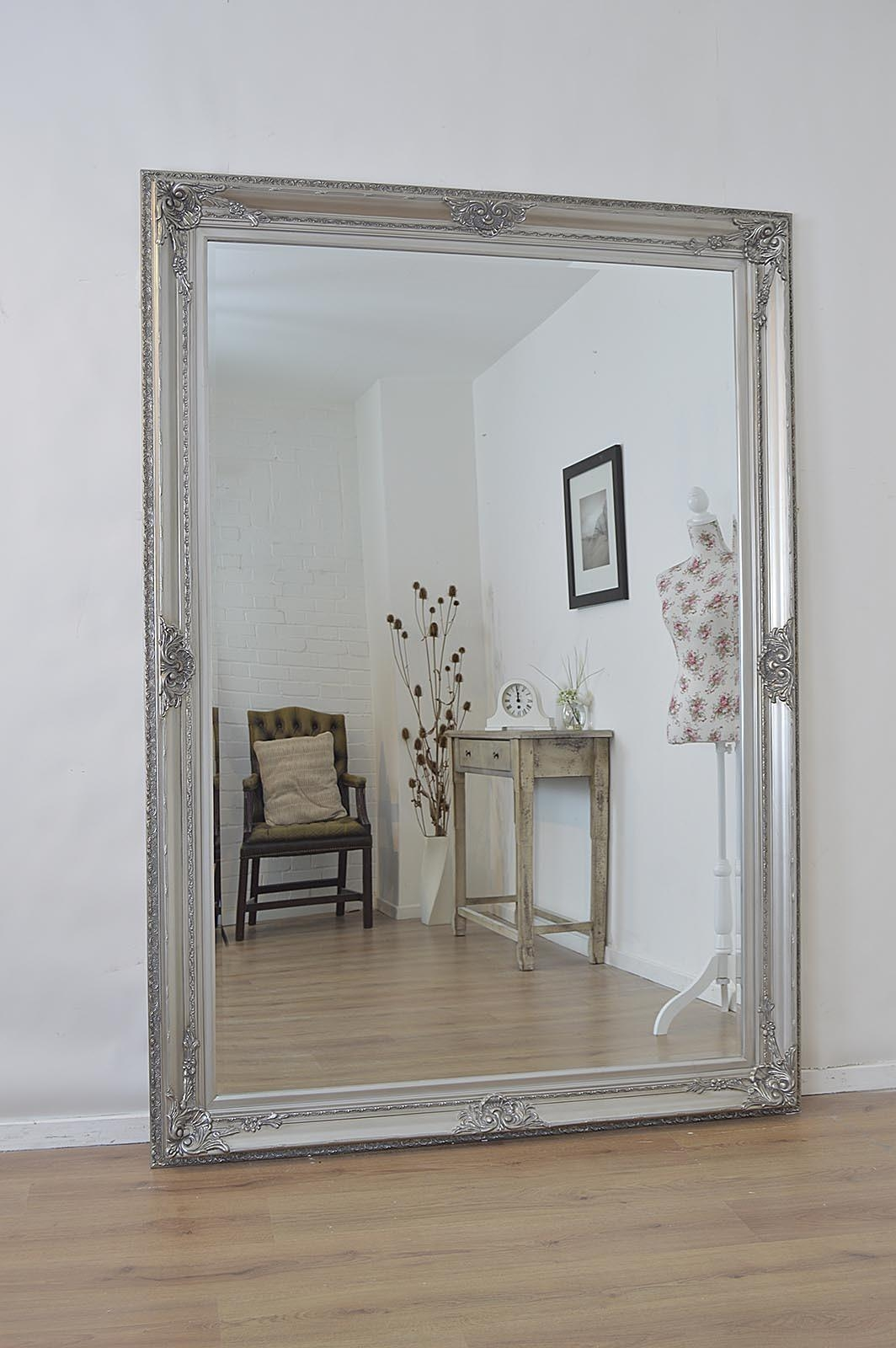 Large Free Standing Mirror 110 Stunning Decor With Silver Large Inside Silver Free Standing Mirror (Image 18 of 20)