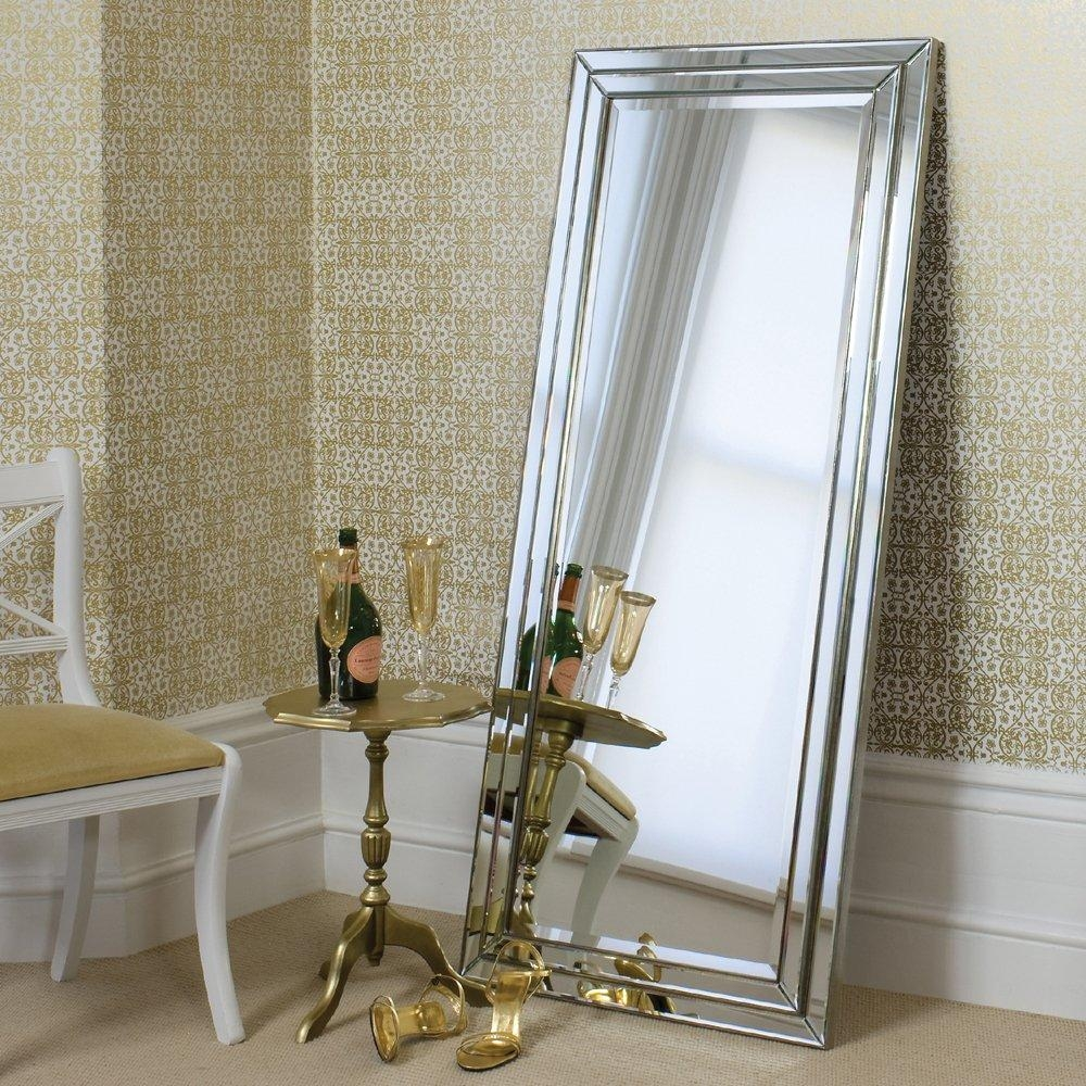 Large Free Standing Mirror 22 Awesome Exterior With Leaning Floor With Silver Free Standing Mirror (Image 19 of 20)