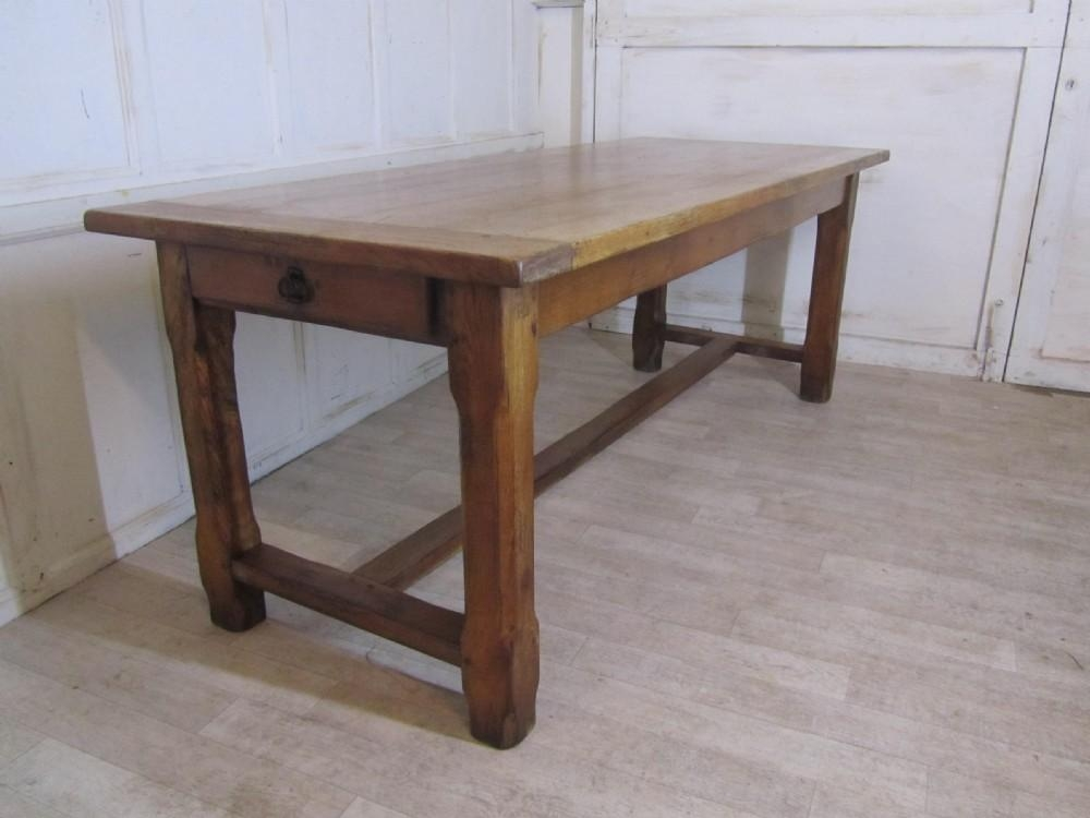 Large French Farmhouse Oak Dining Table From Brittany | 270470 Regarding Brittany Dining Tables (Image 19 of 20)
