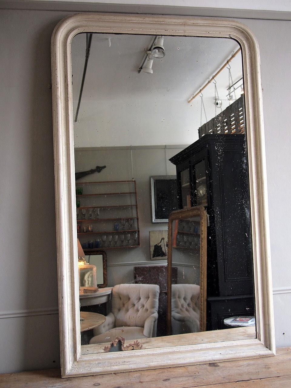 Large French Mirror › Puckhaber Decorative Antiques › Specialists Regarding Large White French Mirror (Image 10 of 20)