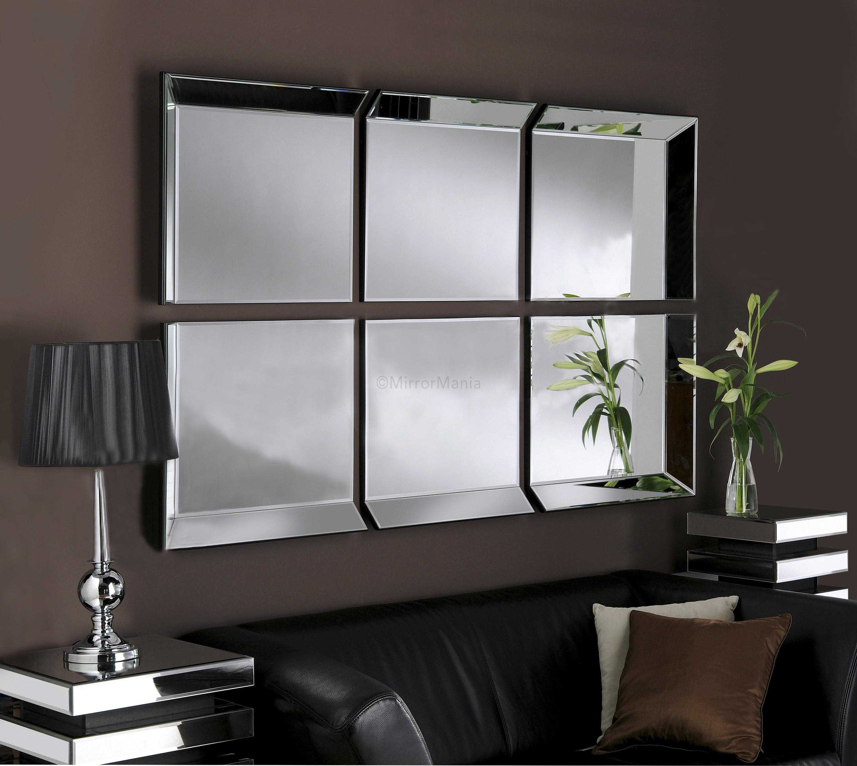 Large Glass Bevelled Wall Mirror – Harpsounds (Image 15 of 20)