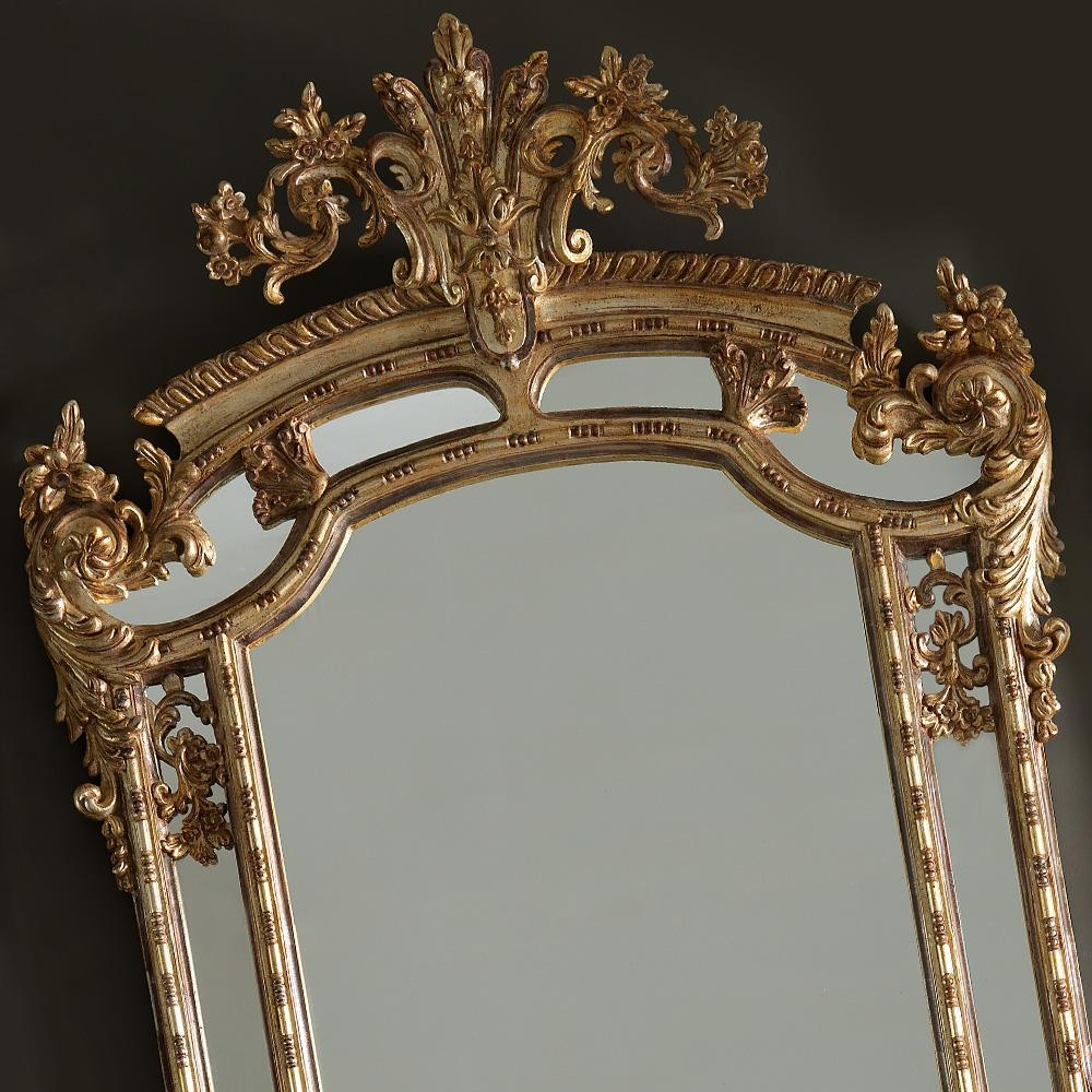 Featured Image of Gold Rococo Mirror
