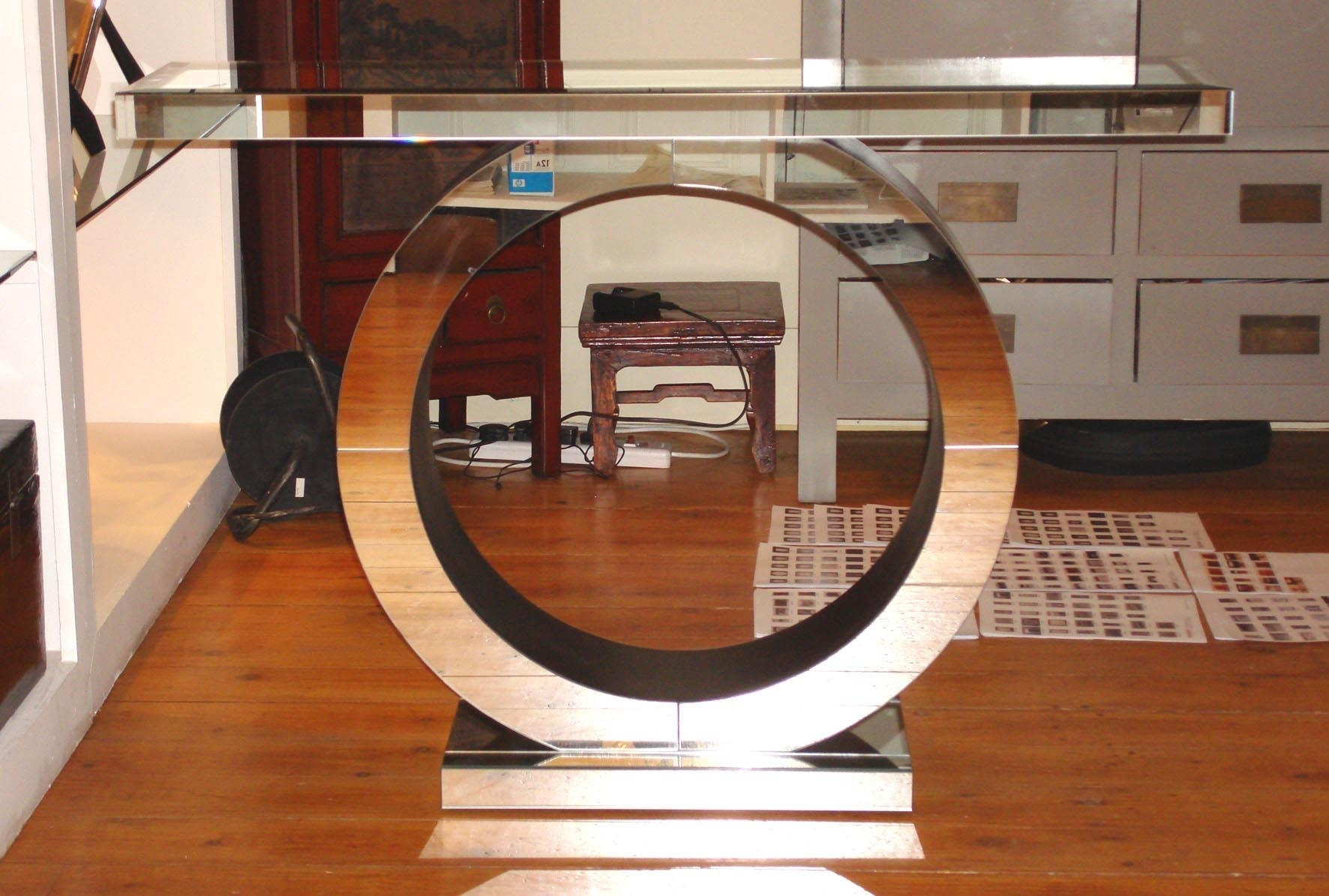 Large Mirrored Console Table 98 Trendy Interior Or Decorating With Within Art Deco Large Mirror (Image 17 of 20)