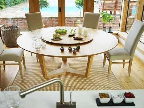 Large Round Dining Table Seats 10 Foter (Image 12 of 20)