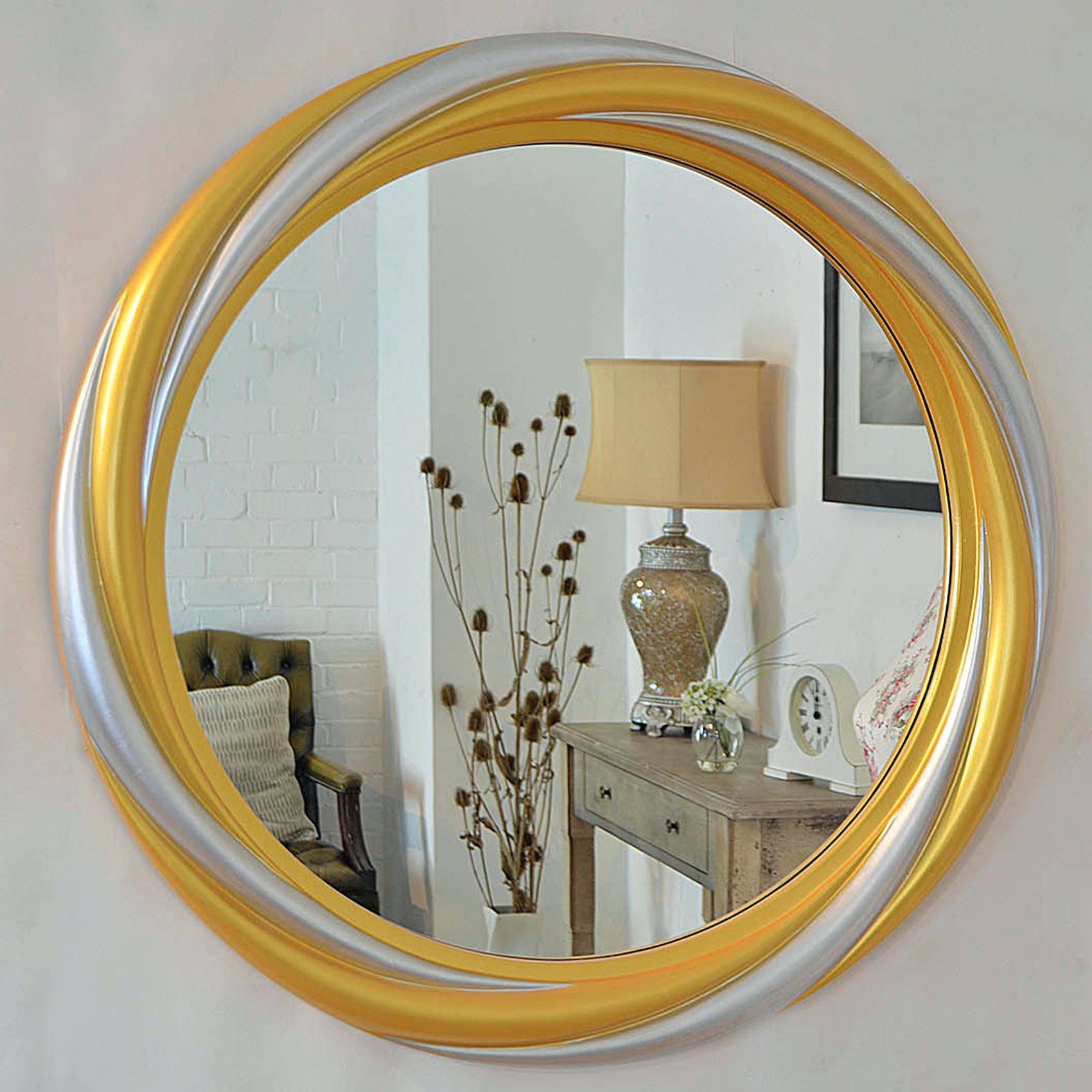 Large Round Gold Mirror – Amlvideo With Extra Large Gold Mirror (View 15 of 20)