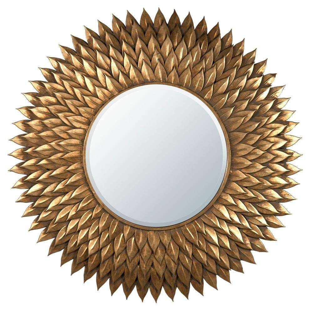 Large Round Mirror Uk | Vanity And Nightstand Decoration Regarding Gold Round Mirrors (Image 11 of 20)