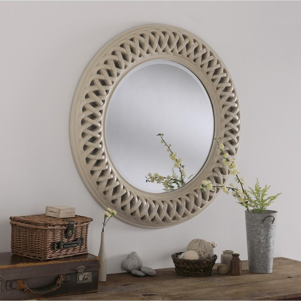 Large Round Mirror Uk | Vanity And Nightstand Decoration Within Large Circular Mirror (Image 10 of 20)