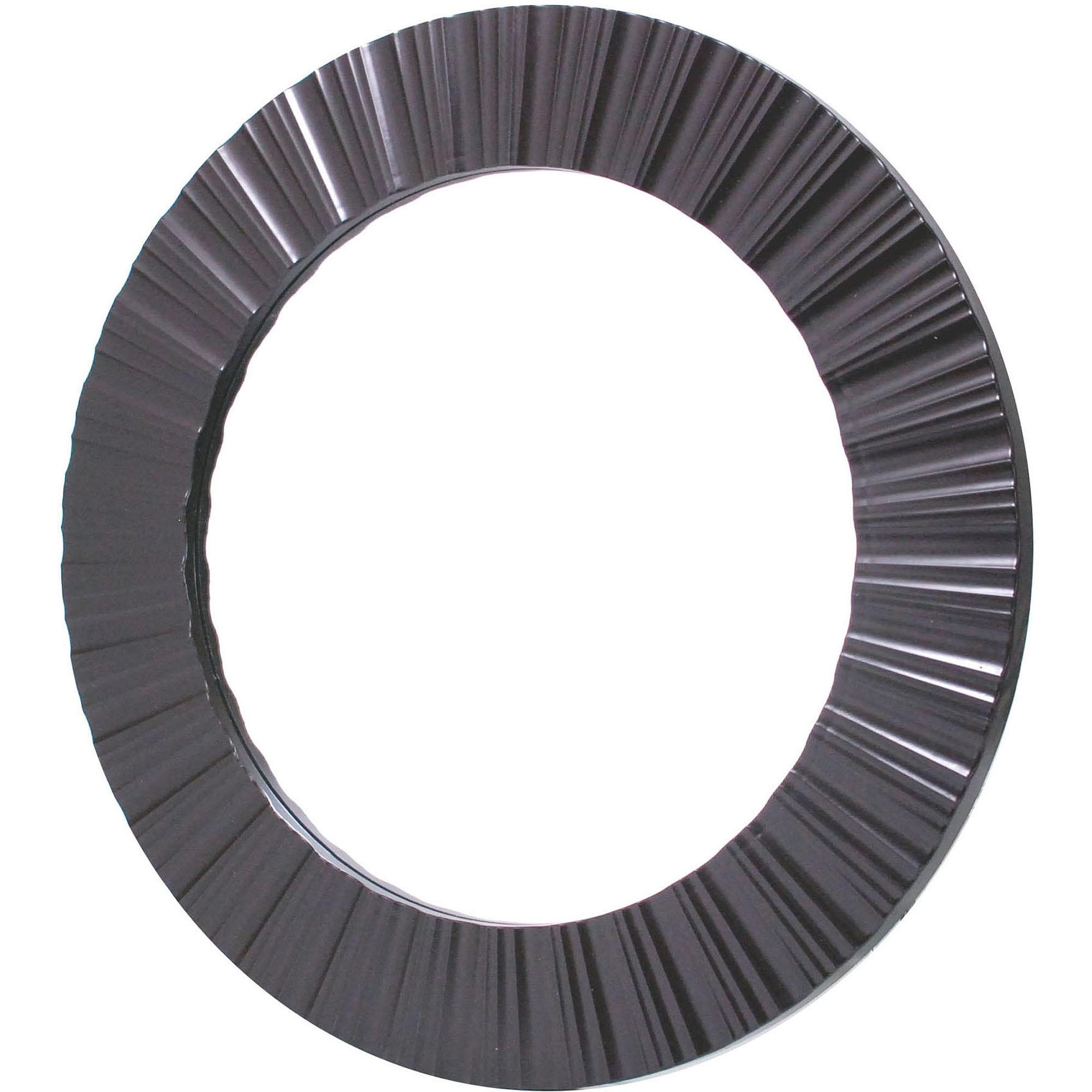 Large Round Mirrors For Large Round Black Mirror (Image 11 of 20)